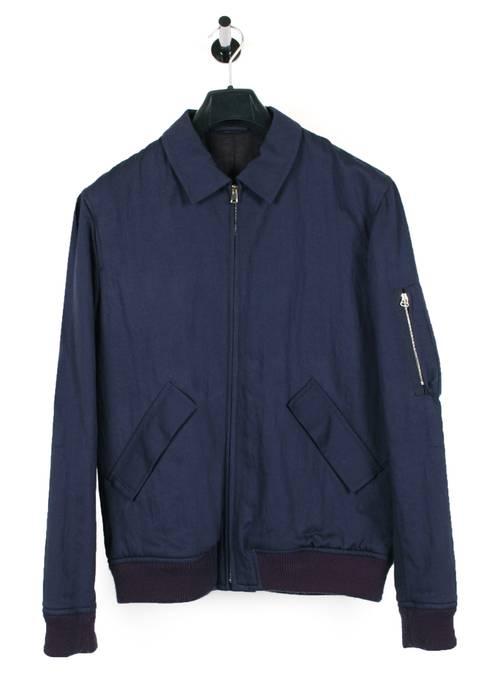 7b2532d5941e9 A.P.C. Original APC Rue Madame Paris Blue Men Bomber Jacket in size L Size  US L