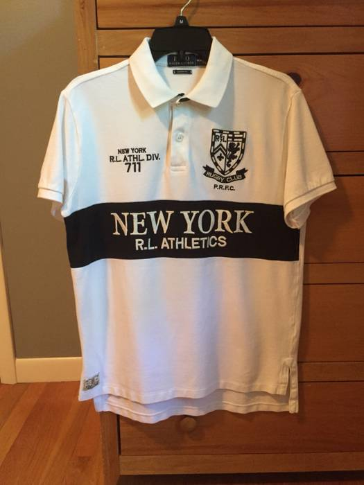 deb59a5f4 ... best price polo ralph lauren polo ralph lauren white ny new york rugby  club shirt size