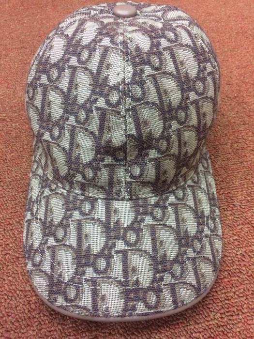 Dior Rare Dior Iconic Monogram Made In Italy Full All Over Spell Out  Adjustable Size Trucker 469484ef7db