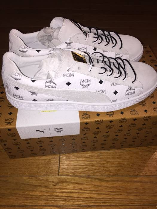 87df931b7c2d Puma Suede Classics X MCM Size 9.5 - Low-Top Sneakers for Sale - Grailed