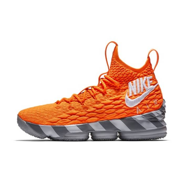Nike Nike Lebron 15 Orange Box Lebron Watch Size 12 - Hi-Top ... 023566a17117