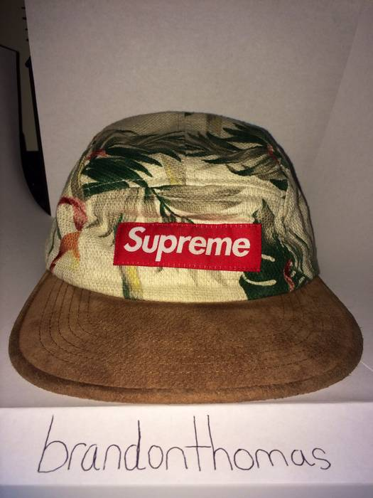 Supreme Supreme Floral Camp Cap SS12 Size one size - Hats for Sale ... 549edacdc80
