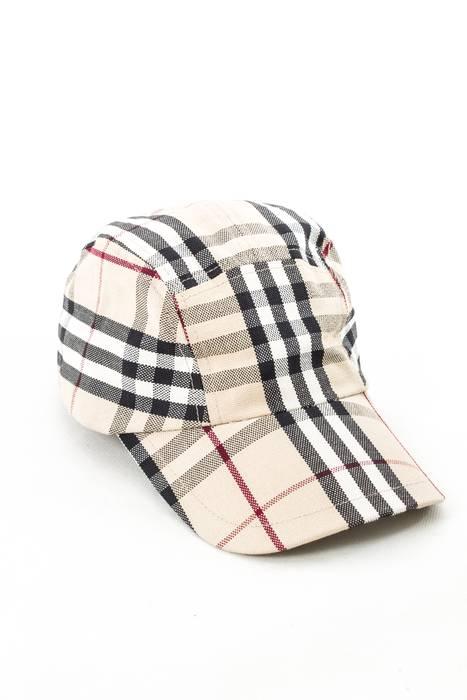 ac7456ff3c0 Burberry BURBERRY LONDON RARE MENS 5 PANEL BASEBALL CAP HAT NOVA CHECK  PLAID ONE SIZE Size