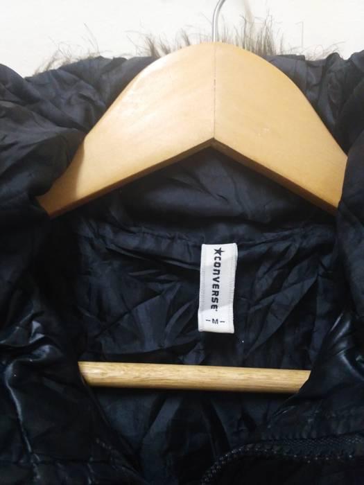 c4e08e6eb034 Converse Converse Puffer jacket black stripes winter wear snow vintage Size  US M   EU 48