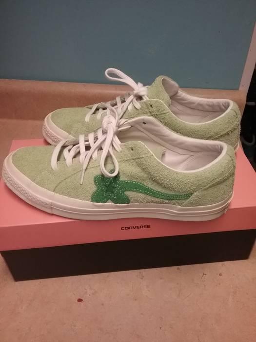 Converse Jade Lime Green Golf Le Fleur Converse One Star Size 10