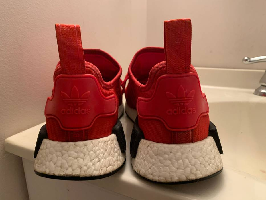 "4250099d662d2 Adidas Nmd R1 ""Clear Red"" Size 8.5 - Low-Top Sneakers for Sale - Grailed"