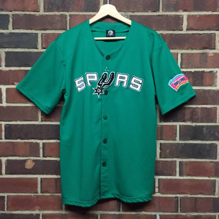 e1a562072 france vintage vintage san antonio spurs baseball jersey size us m eu 48 50  f27c8 09c5e