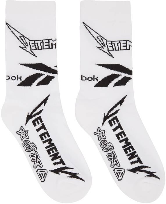 284a3538e5b9 Vetements Vetements x Reebok socks Size one size - Socks   Underwear ...