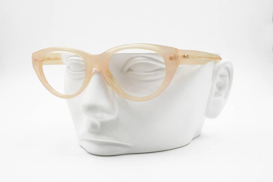 3f07fc6cf7 Vintage Vintage Skin pink cat eye glasses frame LOOK Old America U.S.A.