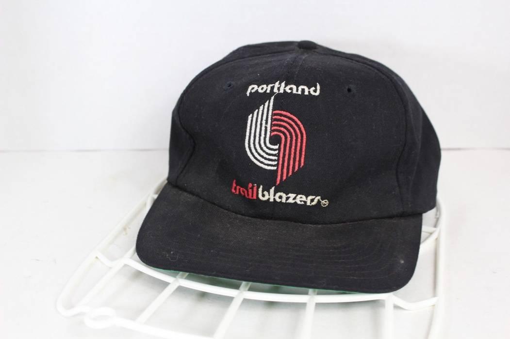 Vintage. Vintage 90s Portland Trailblazers NBA Basketball Spell Out  Snapback Hat Cap d79cb67c2b0
