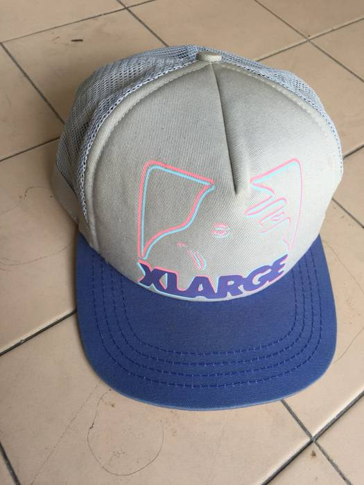 """X Large Rare Authentic X Large """"Gorilla"""" Printed Net Back Snapback Hat    Made 04967a29608"""