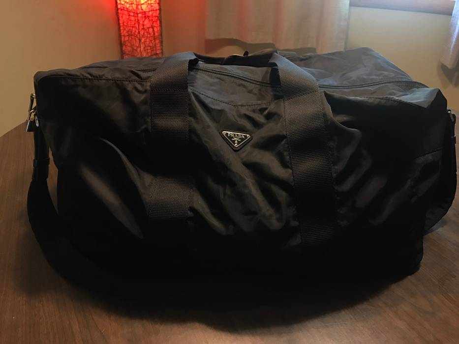 a0f2f5403cf6 new zealand prada nylon duffle bag 0c230 670d5