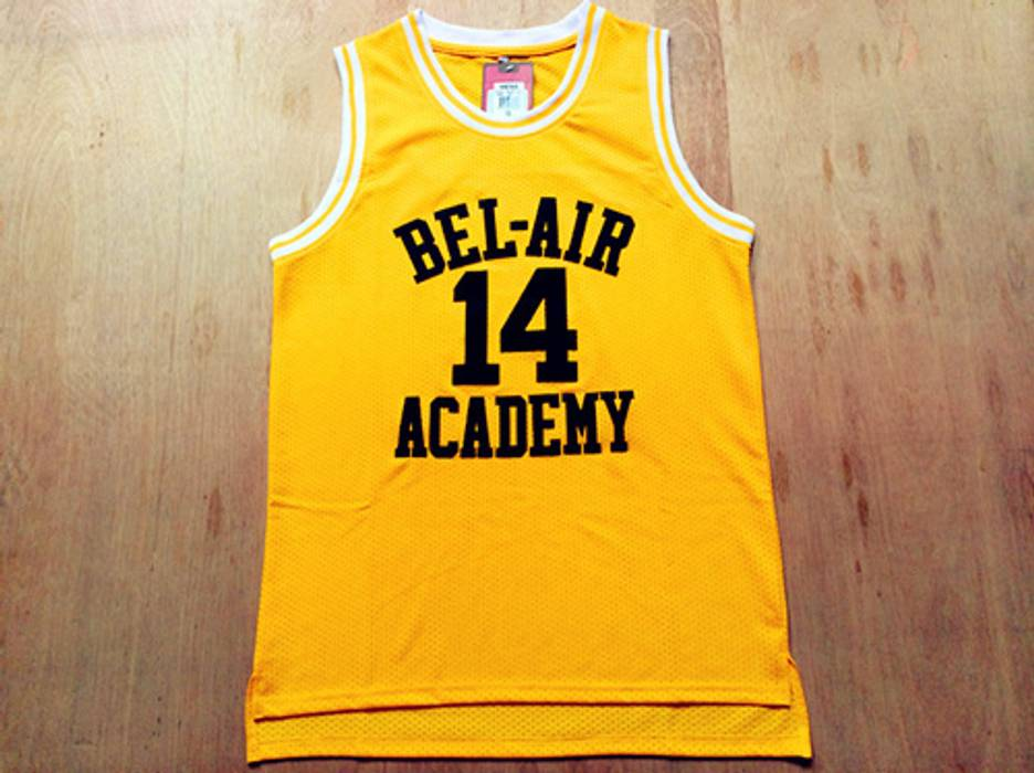b84e231f679d Jersey Fresh Prince of Bel-Air Will Smith Basketball Jersey Size l ...