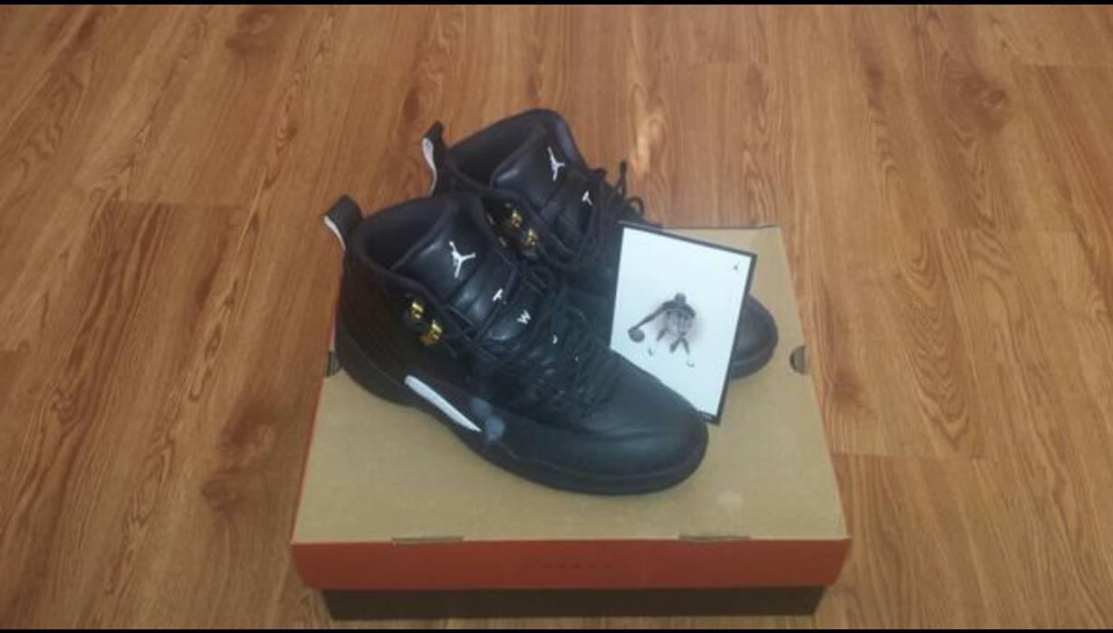 d44d676c5a07 Jordan Brand. 1 6 Nike Air Jordan XII Retro 12 The Master Black Rattan  White Gold ...