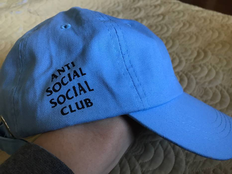 87f52b7c5b5 Antisocial Social Club Baby Blue Cap Size one size - Hats for Sale ...
