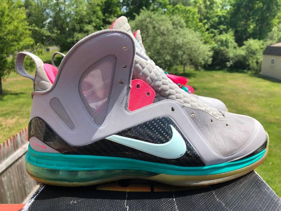 b01b1a25278 Nike Lebron 9 South Beach Size 11 🏖 🔥 CLEAN Size 11 - Hi-Top ...