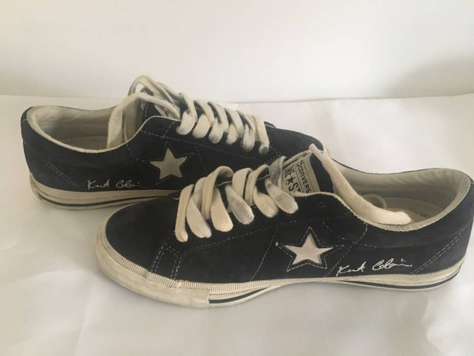 fe774fd48ad1 Converse Kurt Cobain X Converse One Star Size 7.5 - Low-Top Sneakers ...