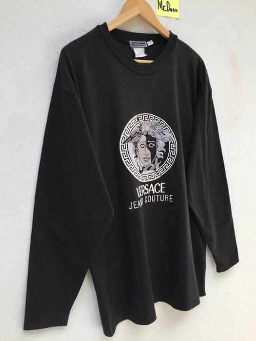 d049293447fe Versace Gianni Versace By Versace Big Medusa Head Embroidery Spellout Size  US L   EU 52