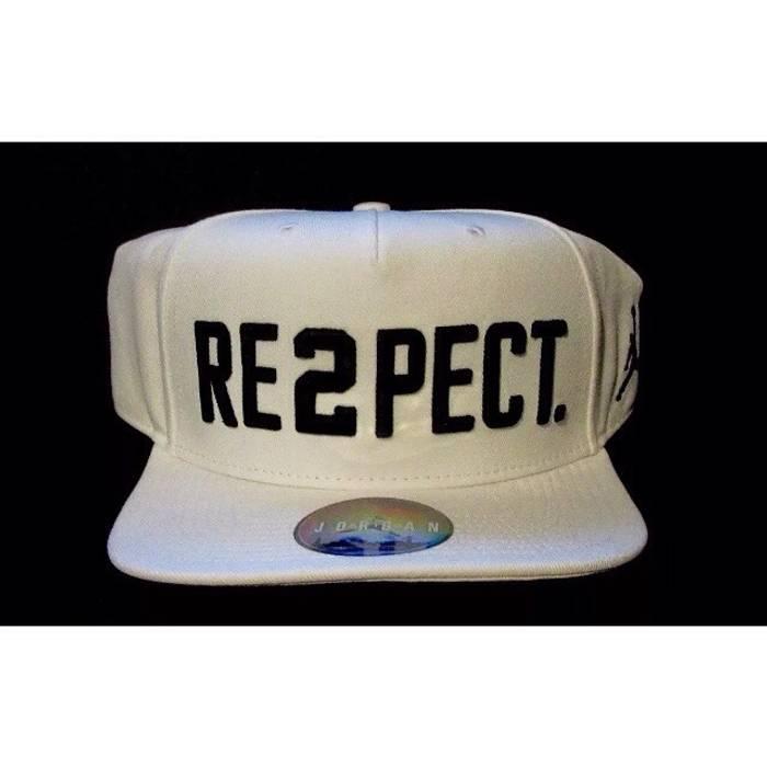 c08dba5e73378 Jordan Brand NWT Jordan Re2pect Derek Jeter Snapback Hat Size ONE SIZE