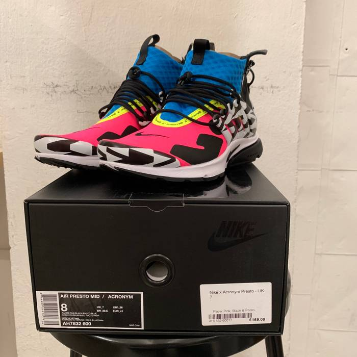 huge selection of 84d8b acbf2 Nike Nike x Acronym Air Presto Mid - Size 8US Shipping from Canada Size