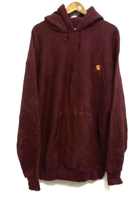 Carhartt Vintage Rugged Outdoor Wear Sweater Sweatshirt Hoo Pull Over Jacket Size Us Xl