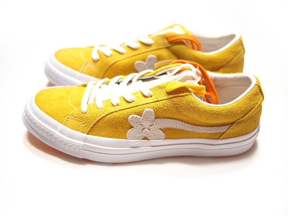 Converse Converse One Star Golf Le Fleur Yellow Size 11 Low Top