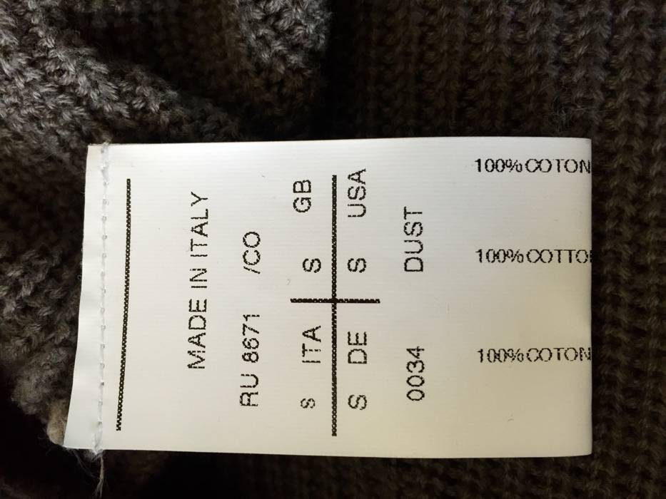Rick Owens Rick Owens ANTHEM Knit Sweater Size US S   EU 44-46   5a6333011
