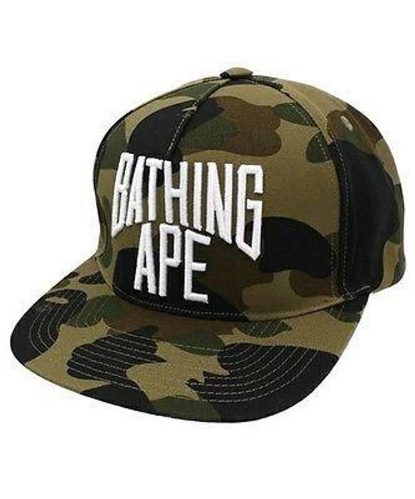e71e74a30fe Bape 1st camo NYC Logo Green SnapBack Size one size - Hats for Sale ...