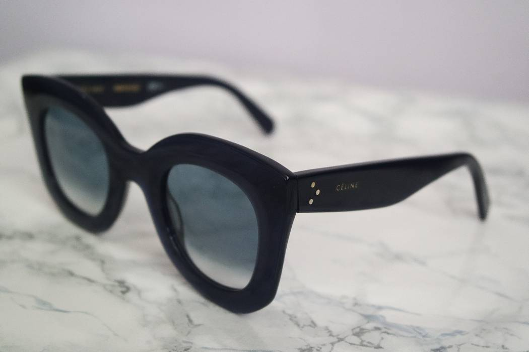 fd29f44565b Celine NEW Celine Marta Sunglasses in Navy Blue Size one size ...
