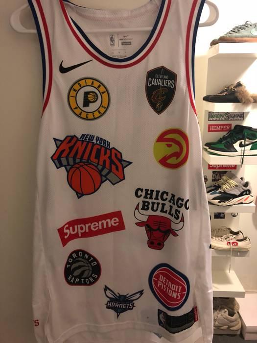 b2aa8b456b0 Supreme Supreme X NBA X Size m - Jerseys for Sale - Grailed