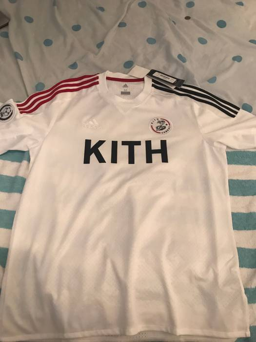 Adidas ADIDAS X KITH SOCCER GAME JERSEY COBRAS HOME Size m - Short ... bd7496cd2