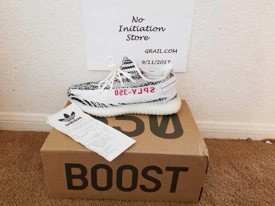 Adidas Yeezy Boost 350 V2 Zebra Size 10 Retail Prive