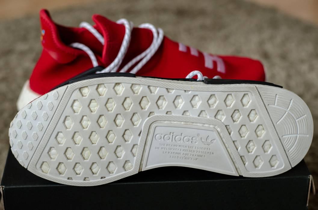 Adidas Adidas NMD HU Human Race Scarlet Red US11.5 used Size US 11.5   222117f72