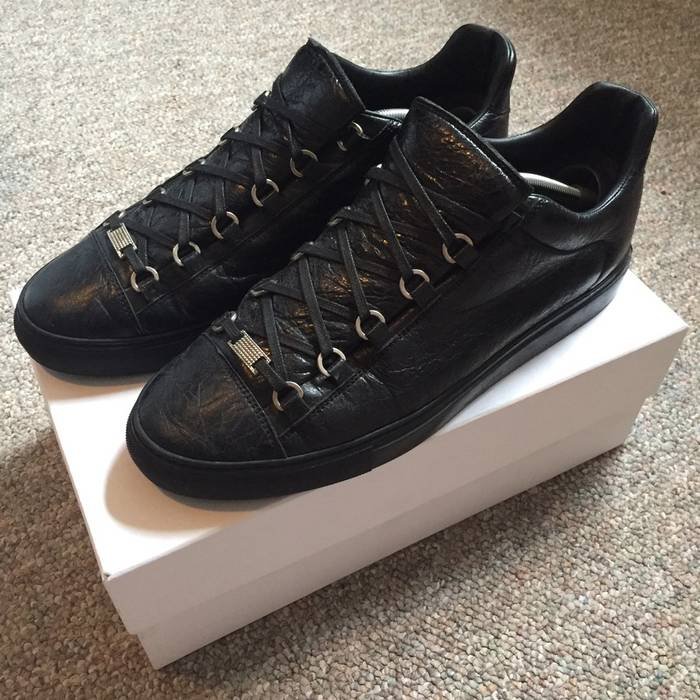 Balenciaga Arena Lowtop Black Size 12 - Low-Top Sneakers for Sale ... c41f2b7c5360
