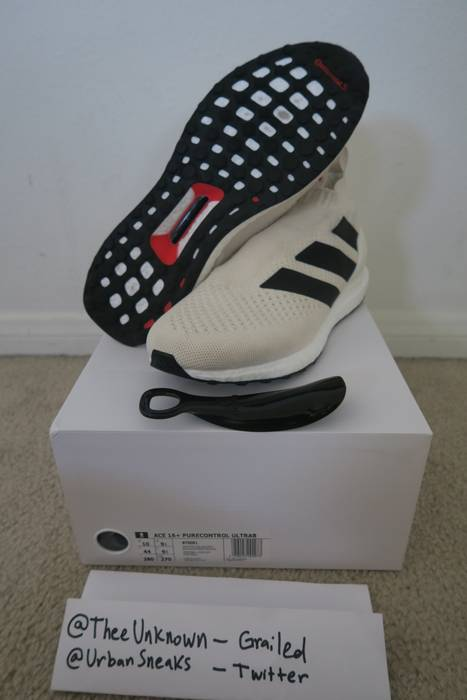 best service d7739 bb138 Adidas Ace 16+ pure control ultra boost champagne Size US 10  EU 43 -