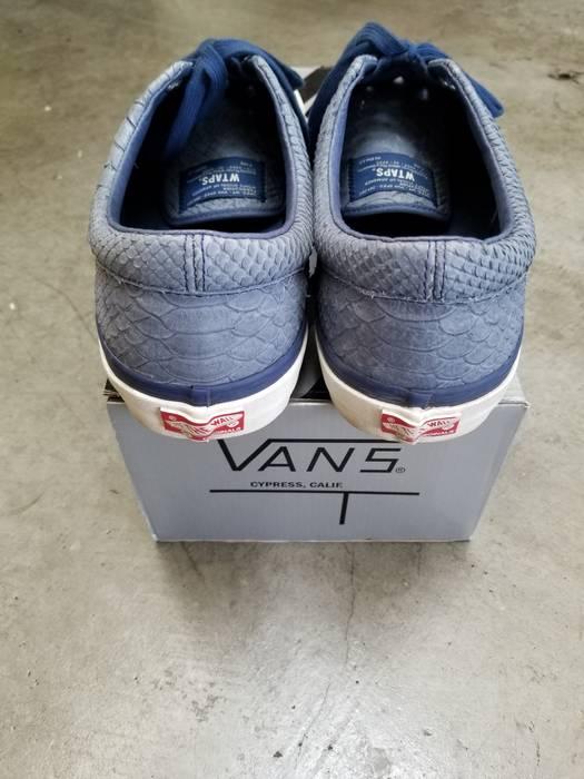 5e37d18a94 Vans Vans Vault x Wtaps Blue Anaconda Authentics Size US 13   EU 46 - 4