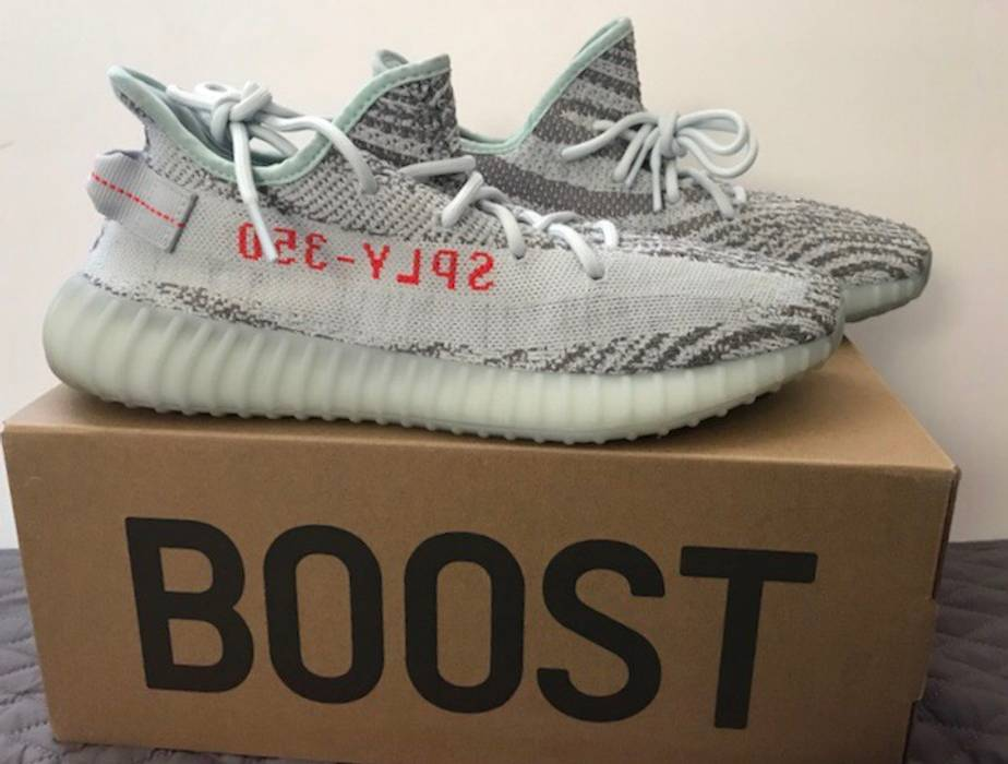 94b0a57683629 Adidas Kanye West Yeezy Boost 350 V2 Blue Tint Size 11 - Low-Top ...