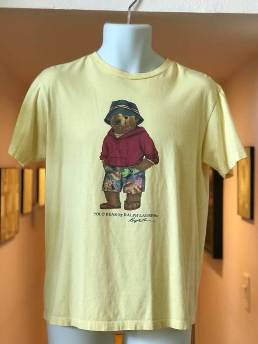 Polo Ralph Lauren Hawaiian Polo Bear Shirt. Rare Vintage. Size s ... 70311f690