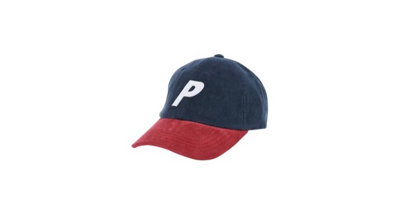aaee901b848 Palace Corduroy P 6-Panel Navy Red DS Size one size - Hats for Sale ...