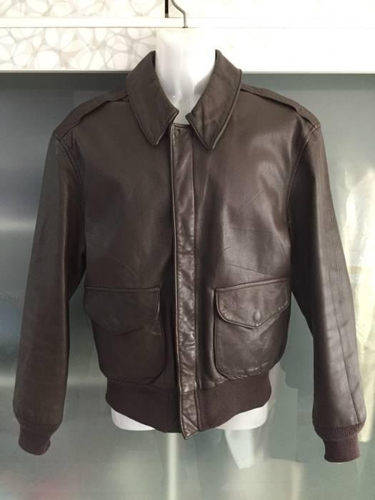 Vintage Saddlery A2 By Cooper Sportswear Mfg Leather Flying Jacket