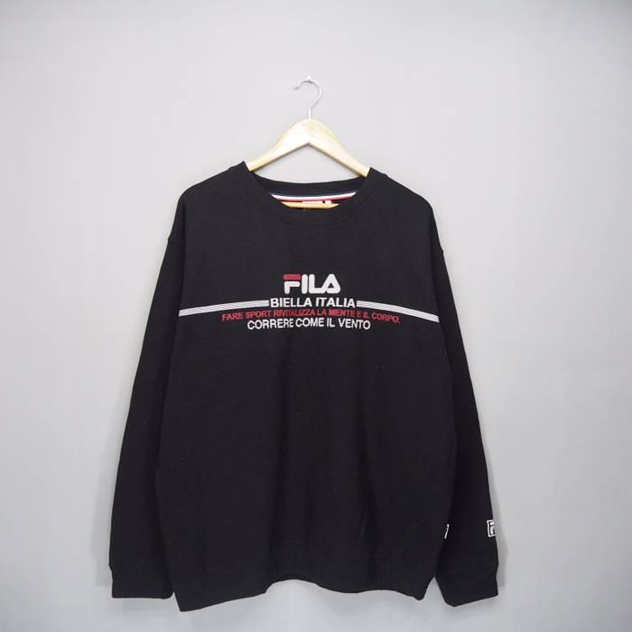 b92b78c6175f Fila Rare!! Fila Sweatshirt Big Logo Pullover Jumper Size US XL   EU 56