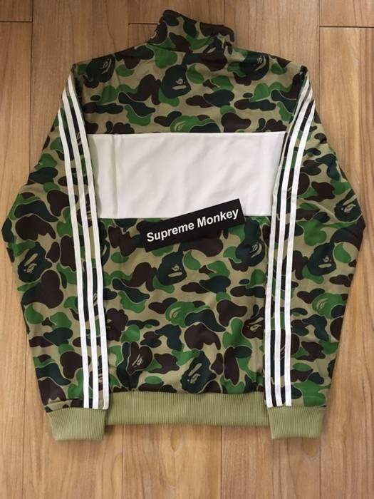 c9589a9a9215 Bape Bape x Adidas Firebird Jacket Size xl - Jerseys for Sale - Grailed