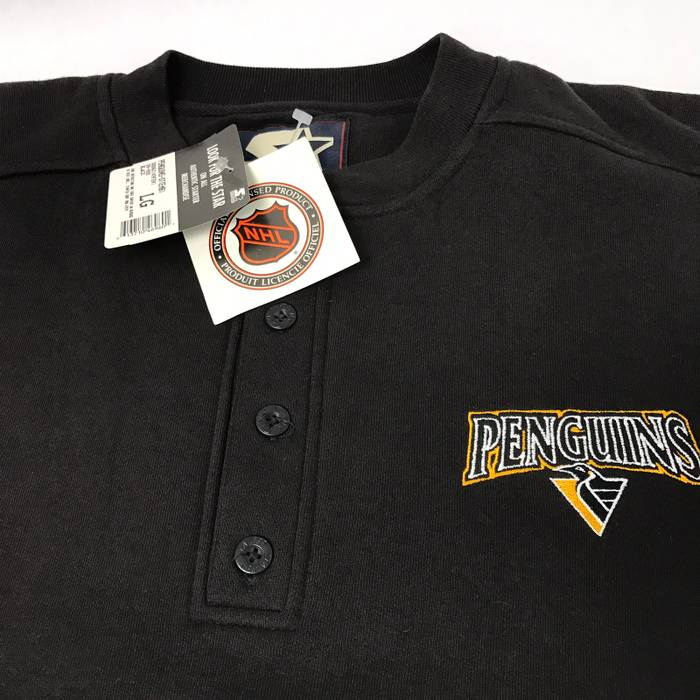 Starter NWT Pittsburgh Penguins embroidered crewneck sweatshirt Size US L    EU 52-54   89e0c25ed
