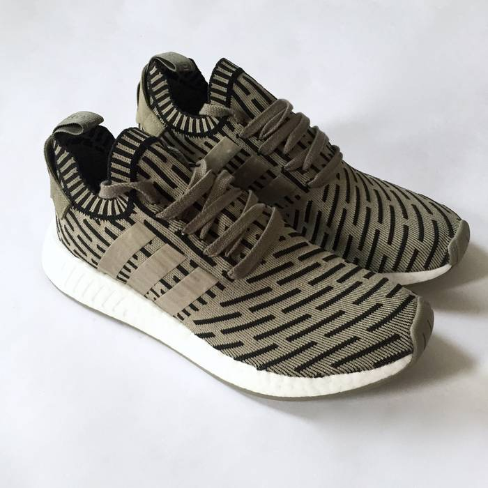 9c64ee3ee5a54 Adidas Olive NMD R2 PK DS Size 9 - Low-Top Sneakers for Sale - Grailed