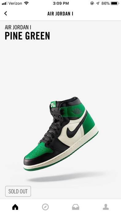 buy popular 29332 542f0 Jordan Brand. Air Jordan 1 Pine Green Supreme Nike Adidas ...