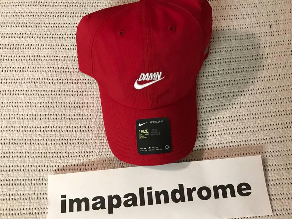 """Nike TDE X Nike Championship Tour Pop-Up """"Damn"""" Hat (red) kendrick ... 0c52feef2275"""