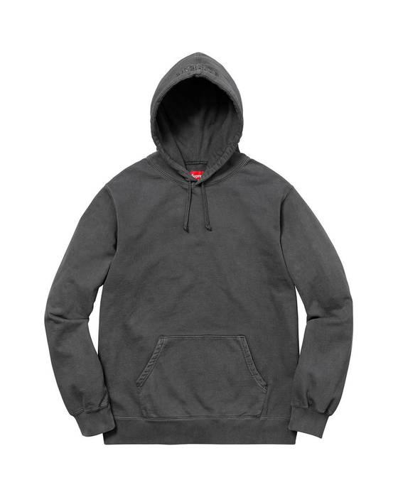 3a13d9f65402 Supreme Supreme SS18 Black Overdyed Hoodie Size s - Sweatshirts ...