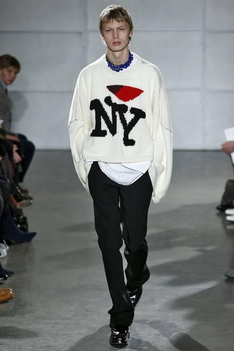 Raf Simons Raf Simons I Love Ny Sweater Size S Sweaters Knitwear