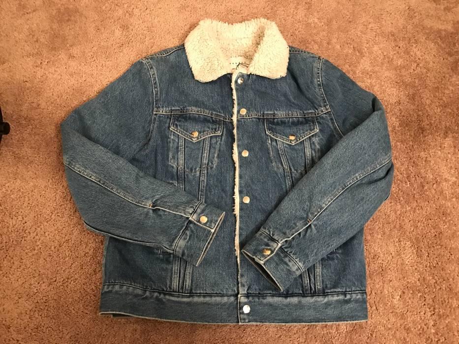 6078afc92d Sandro BNWT Sherpa Lined Denim Jacket Size l - Denim Jackets for ...