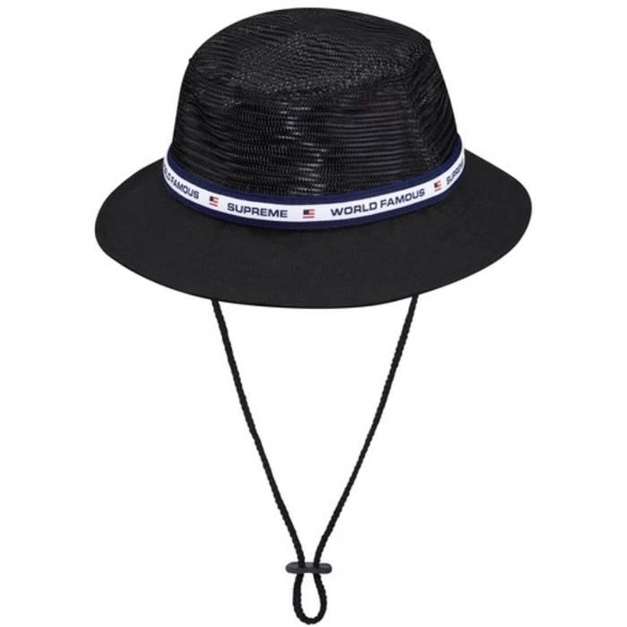Supreme Supreme Mesh Crusher Hat Bucket Hat Sun Polo Sport RL New In ... 6b641240235